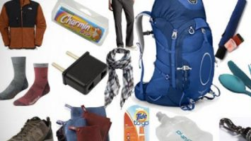 Backpacking Clothes List